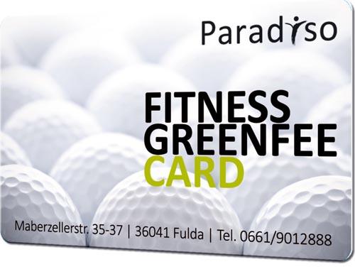 Fitnesskarten golf