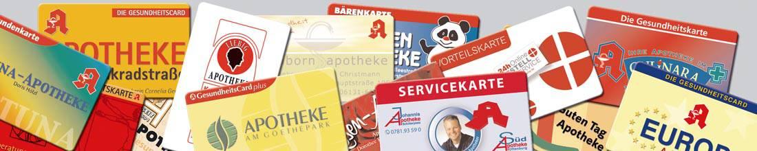 Apotheken Kundenkarten Divers